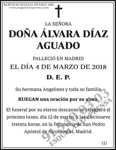Álvara Díaz Aguado